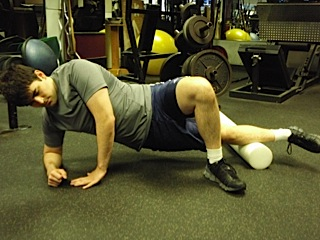 Foam Roller work for Calves