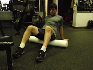 Foam Roller work for the Glutes