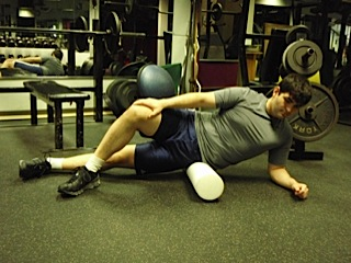 Foam Roller work for IT Band