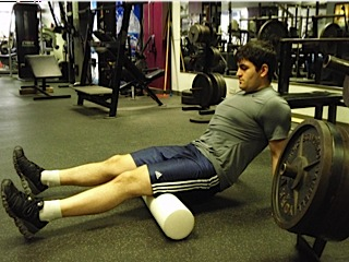 Foam Roller work for Hamstrings