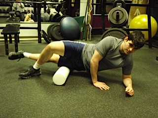 Foam Roller work for the IT Band.