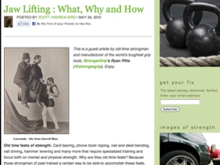 Article : Jaw Lifting : What, Why and How