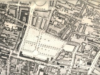 18thC Map of Moorfields