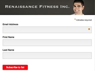 Renaissance Fitness Newsletter