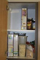 The cupboard was barer