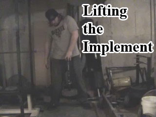 Lifting the Implement