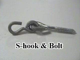 S-Hook and Bolt